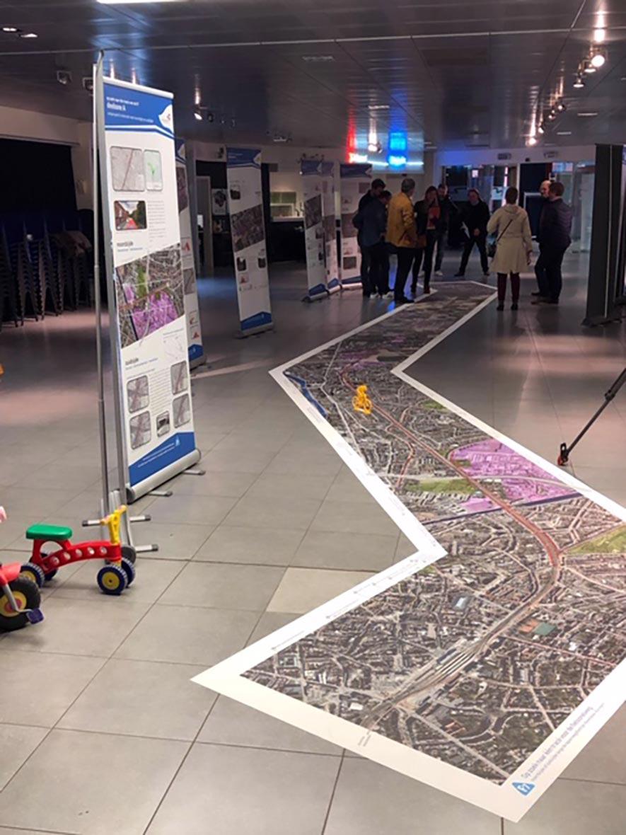 Studiefase fietssnelweg F7 Kortrijk-Waregem