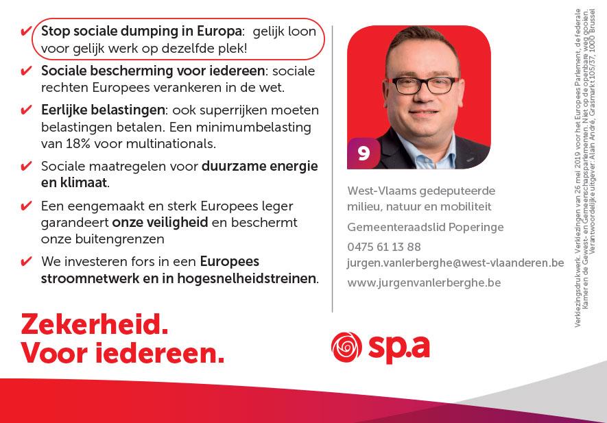 Stop sociale dumping in Europa